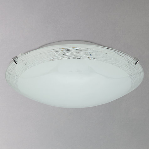 Buy John Lewis Conrad Flush Ceiling Light Online at johnlewis.com