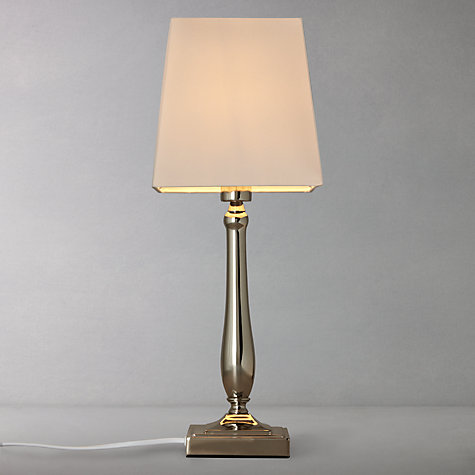 Buy John Lewis Delilah Touch Table Lamp, Nickel Online at johnlewis.com