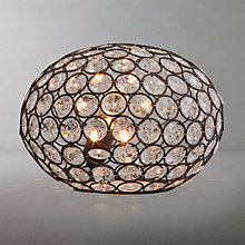 Buy John Lewis Etienne Sparkle Table Lamp Online at johnlewis.com