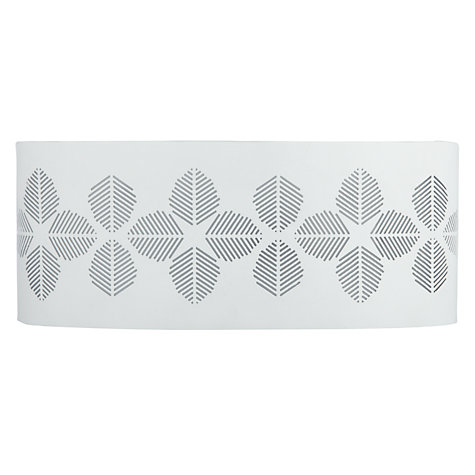Buy John Lewis Fern Leaf Pattern Wash Wall Light Online at johnlewis.com