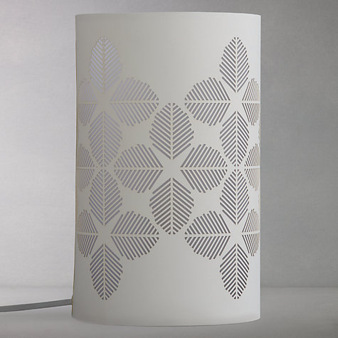 Buy John Lewis Fern Leaves Cutout Table Lamp Online at johnlewis.com