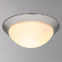 Buy John Lewis Genoa Classic Dome Bathroom Flush Light Online at johnlewis.com
