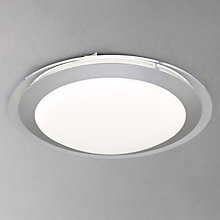 Buy John Lewis Halo Plain Flush Ceiling Light Online at johnlewis.com