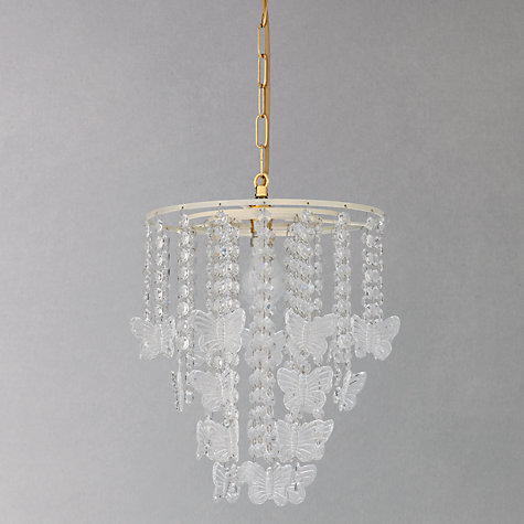 Buy John Lewis Easy-to-fit Kei Butterfly Ceiling Shade Online at johnlewis.com