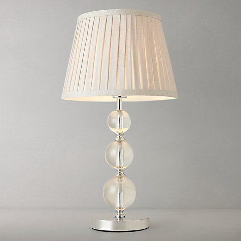 buy john lewis lavinia glass ball table lamp clear john. Black Bedroom Furniture Sets. Home Design Ideas