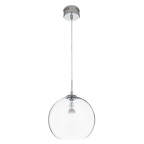 Buy House by John Lewis Leora Reflective Glass Pendant Online at johnlewis.com