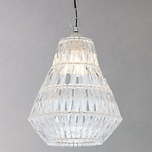 Buy John Lewis Easy-to-fit Mai Acrylic Tailored Pendant Online at johnlewis.com