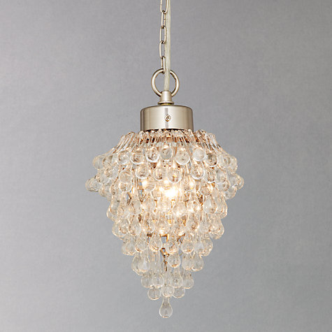 Buy Millicent Bunch Pendant, Satin Nickel Online at johnlewis.com