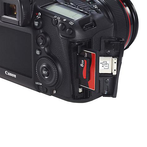 "Buy Canon EOS 5D MK III Digital SLR Camera with 24 - 105mm Lens, HD 1080p, 22.3MP, 3.2"" LCD Screen Online at johnlewis.com"