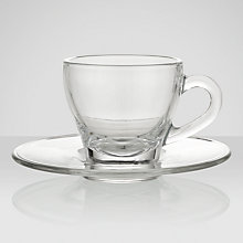 Buy John Lewis Cafe Espresso Glasses, Set of 2 Online at johnlewis.com