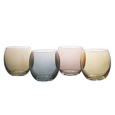 LSA International Polka Metallic Tealight Holders, Set of 4