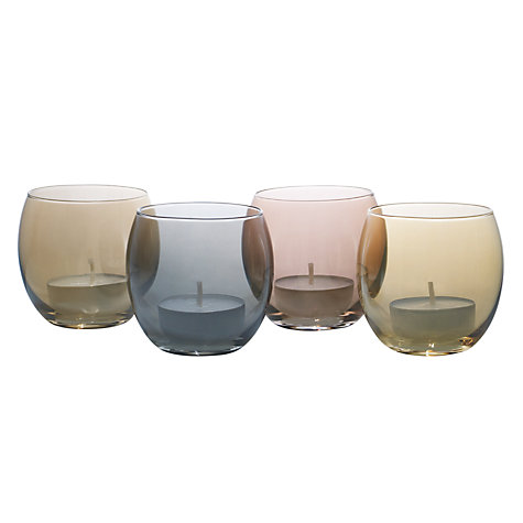 Buy LSA Polka Metallic Tealight Holders Online at johnlewis.com