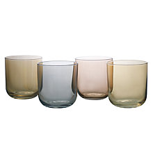 Buy LSA International Polka Metallic Tumblers, 0.42L, Set of 4 Online at johnlewis.com