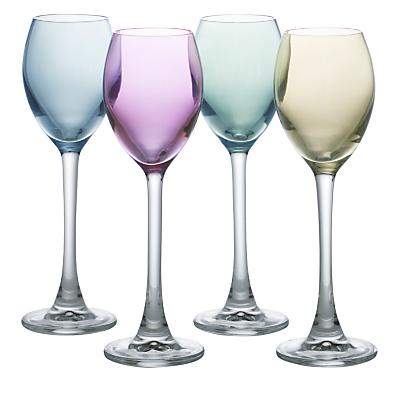 LSA International Polka Pastel Liqueur Glasses, Set of 4
