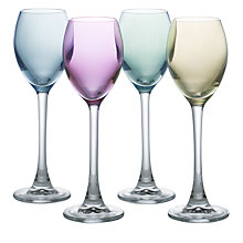 Buy LSA Polka Pastel Liqueur Glasses, Set of 4, Multi Online at johnlewis.com