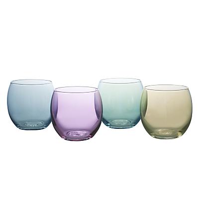 LSA International Polka Pastel Tealight Holders, Set of 4