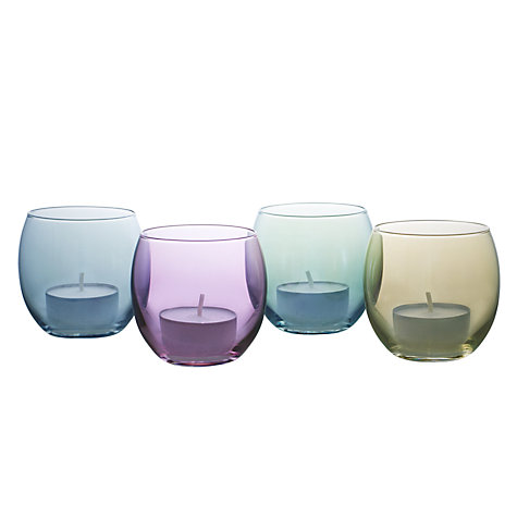 Buy LSA Polka Pastel Tealight Holders, Multi, Box of 4 Online at johnlewis.com