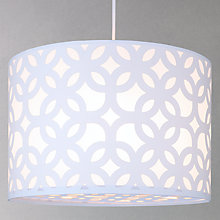 Buy John Lewis Easy-to-fit Renee Fusion Ceiling Shade, Ivory Online at johnlewis.com