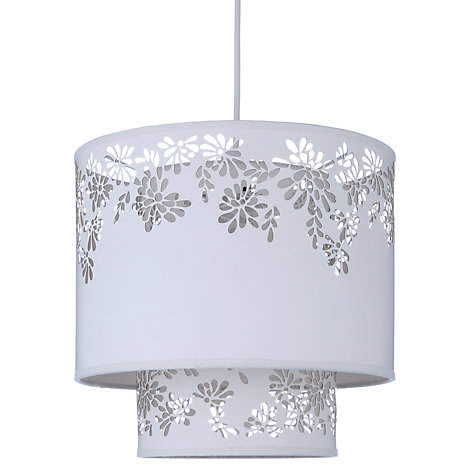 Buy John Lewis Summer Filigree Easy-to-fit Ceiling Light, Ivory Online at johnlewis.com