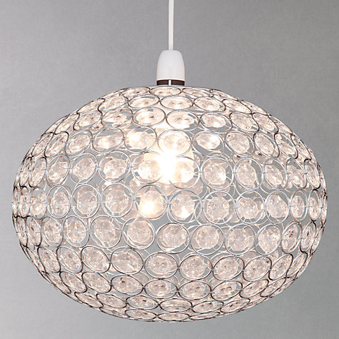 Buy John Lewis Easy-to-fit Zia Ceiling Shade Online at johnlewis.com