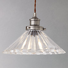Buy John Lewis Phineas Resto Glass Pendant Online at johnlewis.com