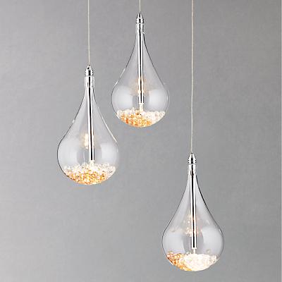 John Lewis Sebastian 3 Light Drop Ceiling Light