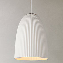 Buy John Lewis Valencia Pendant, Cream Online at johnlewis.com