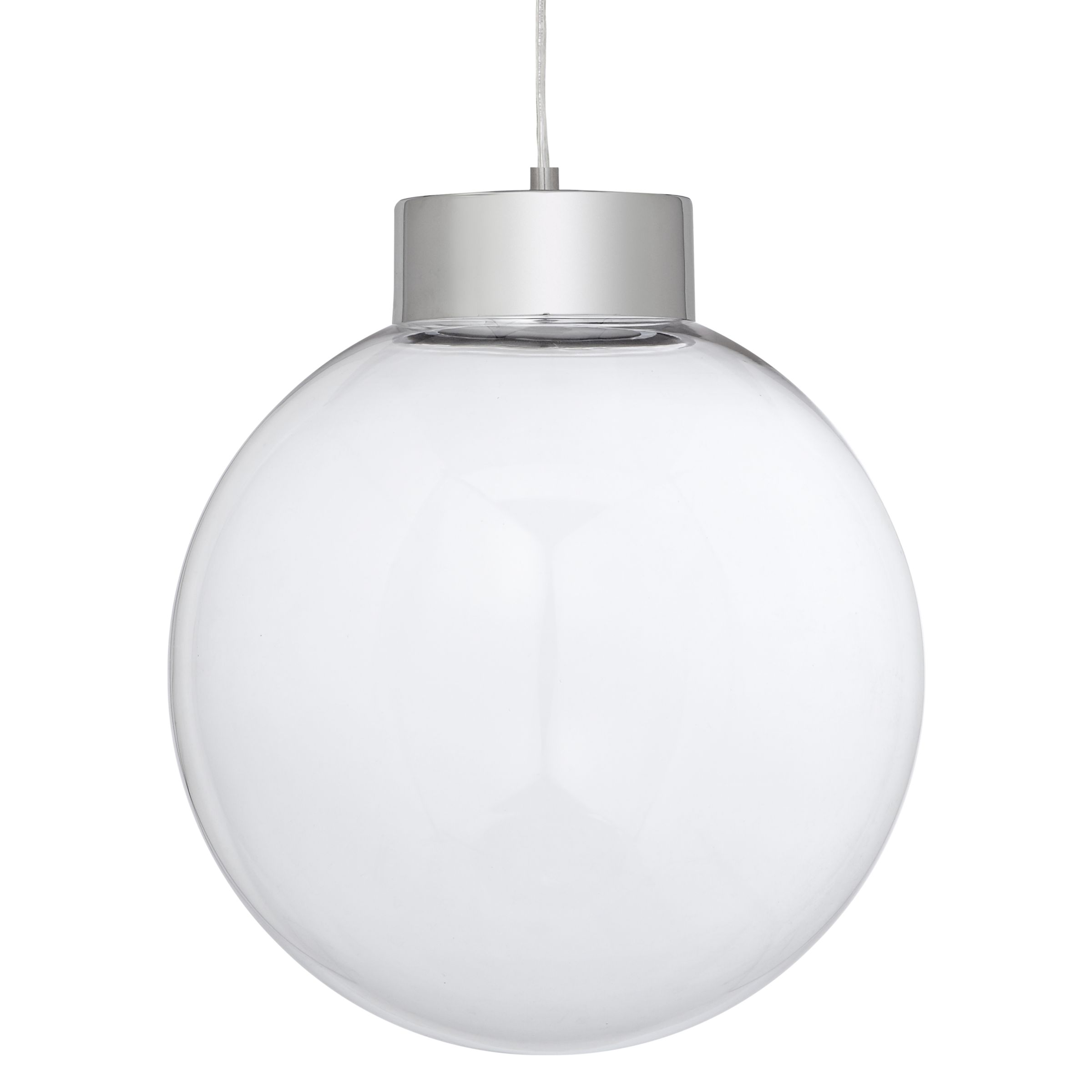 John Lewis Xavier LED Glass Pendant