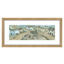 Buy Janice Mcgloine - Countryside 2 Framed Print, 52 x 107cm Online at johnlewis.com