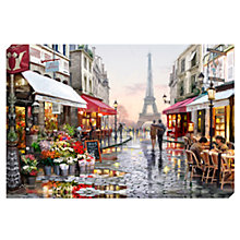 Buy Richard Macneil - Paris Flower Shop Print on Canvas, 70 x 100cm Online at johnlewis.com