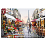 Richard Macneil - Paris Flower Shop Print on Canvas, 70 x 100cm