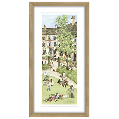 Buy Janice Mcgloine - Park Crescent 1 Framed Print, 88 x 44cm Online at johnlewis.com