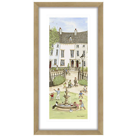 Buy Janice Mcgloine - Park Crescent 2 Framed Print, 88 x 44cm Online at johnlewis.com