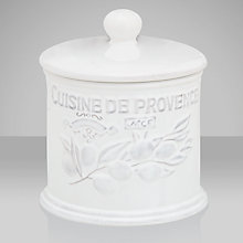 Buy Brissi Cuisine de Provence Jar Online at johnlewis.com