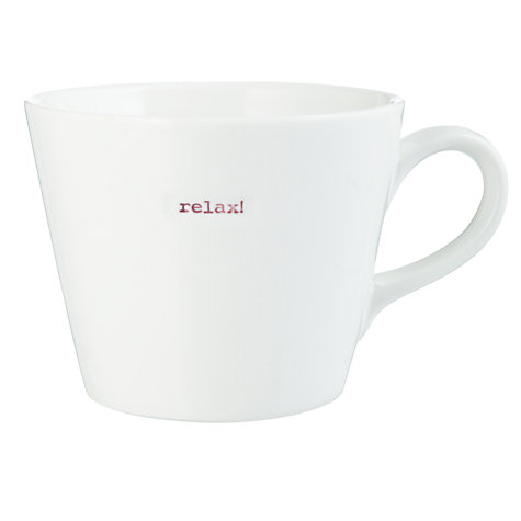 Buy Keith Brymer Jones Word Mug Online at johnlewis.com