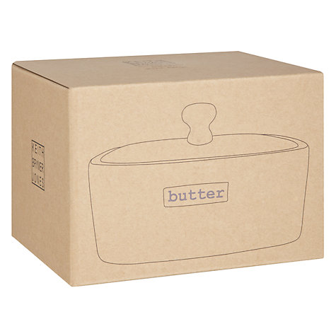 Buy Keith Brymer Jones Word Butter Dish Online at johnlewis.com