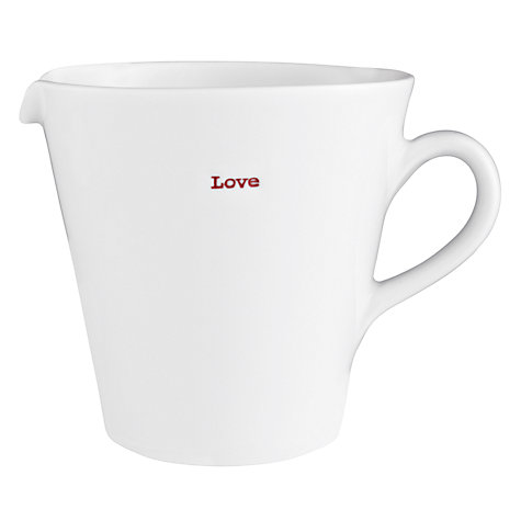 Buy Keith Brymer Jones Word 'Love' Jug Online at johnlewis.com