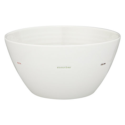 Buy Keith Brymer Jones Word Salad Bowl Online at johnlewis.com