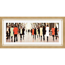 Buy Lorraine Christie - Springtime Poets Walk Framed Print, 49.5 x 108.5cm Online at johnlewis.com