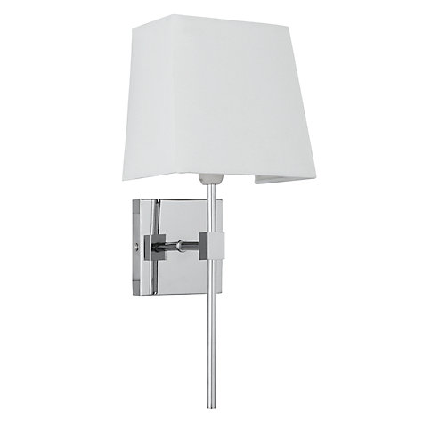Buy John Lewis Westminster Wall Light, Chrome Plate Online at johnlewis.com