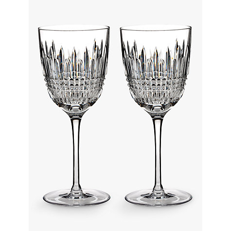 Buy Waterford Lismore Diamond Goblet, Set of 2 Online at johnlewis.com