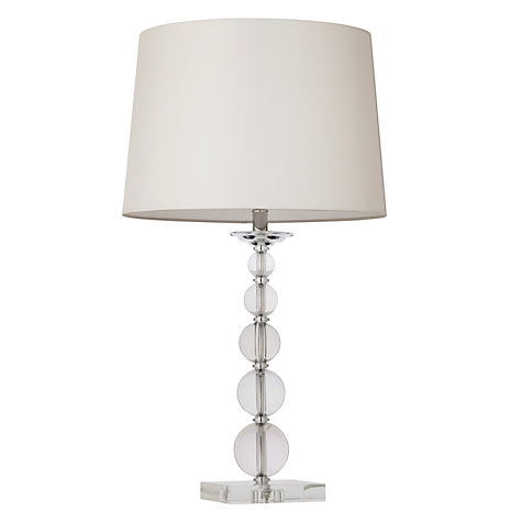 buy john lewis galena crystal balls table lamp online at. Black Bedroom Furniture Sets. Home Design Ideas