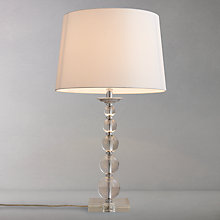 Buy John Lewis Galena Crystal Balls Table Lamp Online at johnlewis.com