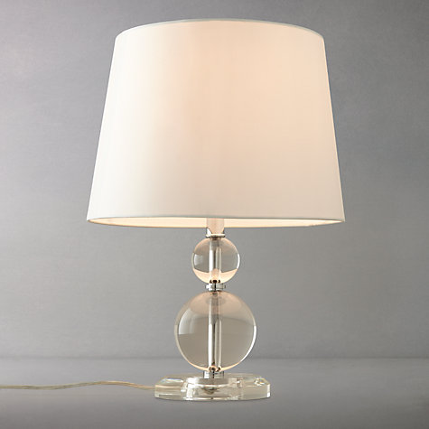 Buy John Lewis Julia Crystal Balls Table Lamp Online at johnlewis.com