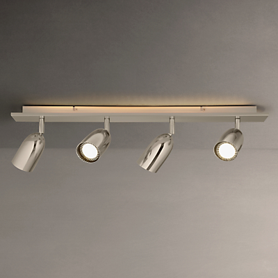 John Lewis Modena LED Backlight Spotlights, Silver, 4 Light