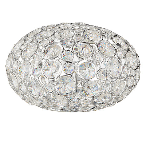 Buy John Lewis Phoebe Glitter Ball Table Lamp Online at johnlewis.com