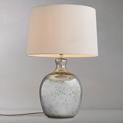 John Lewis Tabitha Distressed Mirror Table Lamp