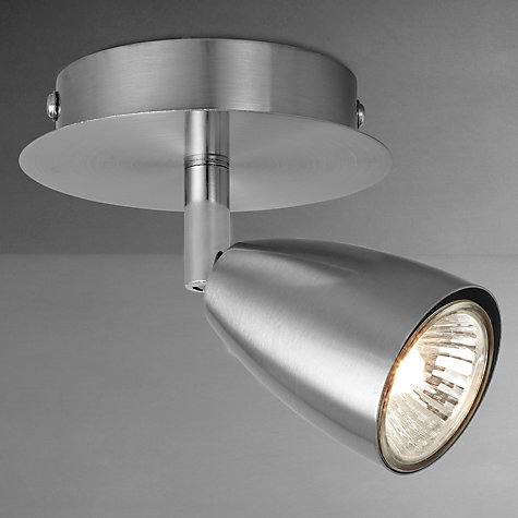 Buy John Lewis Thea Single Spot Light, Brushed Chrome Online at johnlewis.com