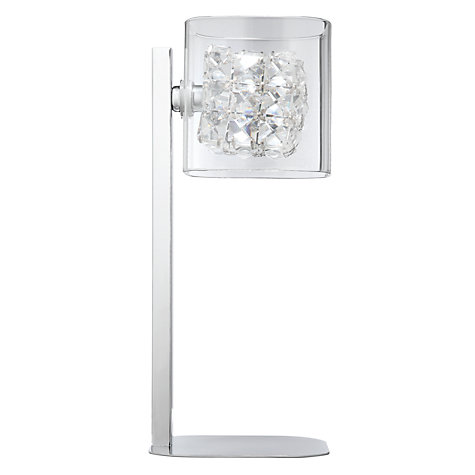 Buy John Lewis Vincenzo Crystal Cube Table Lamp Online at johnlewis.com
