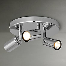 Buy John Lewis Vesper Spotlight Plate, 3 Light Online at johnlewis.com